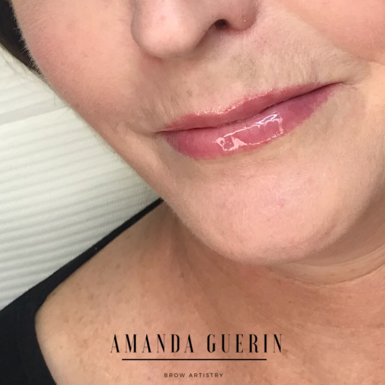 Amanda Guerin Lip Tattooing